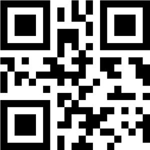 更新データ1.1をダウンロードできるQRコード