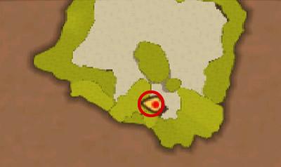 ネルスキュラの巣でツタ登りを使った場所にいるプーギー