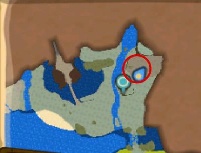 セルレギオスが出現する場所